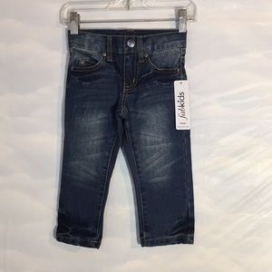 NWT Fabkids Boys Size 2T Straight Leg Denim Jeans